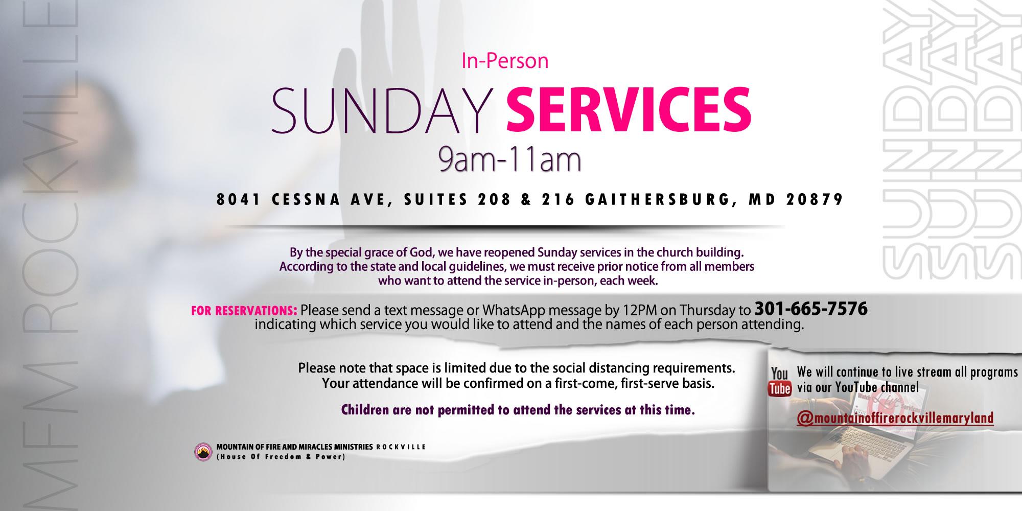 in person service 4